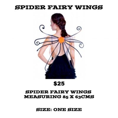 SPIDER FAIRY WINGS
