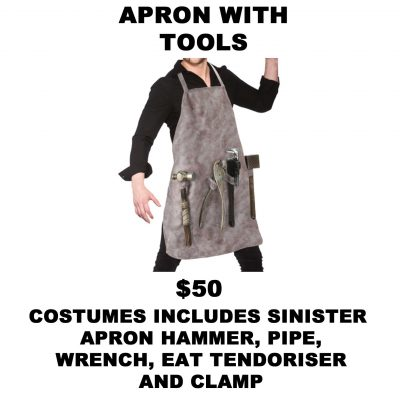 APRON WITH TOOLS