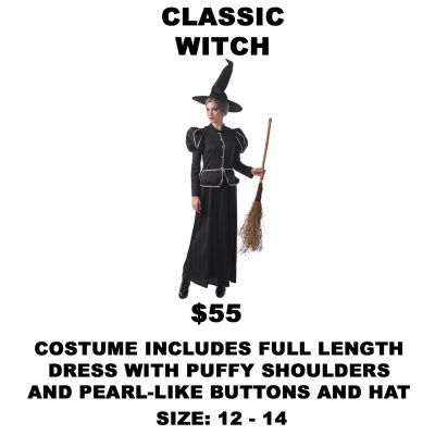 CLASSIC WITCH 12-14