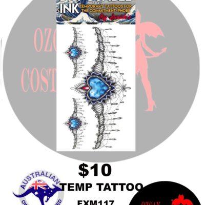 TEMP TATT HEART OF OCEAN