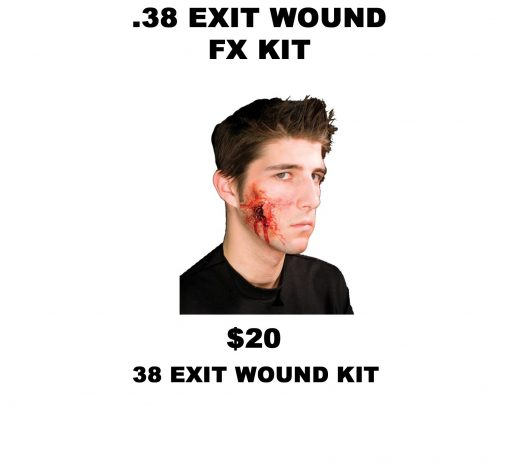 38 EXIT WOUND KIT