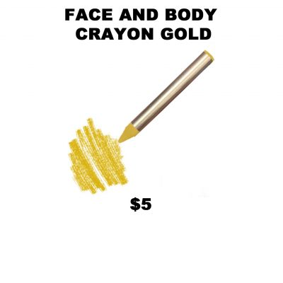 FACE AND BODY CRAYON GOLD