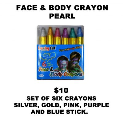 FACE AND BODY CRAYON PEARL