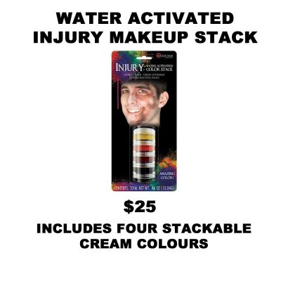 WATER ACTIVATED INJURY STACK