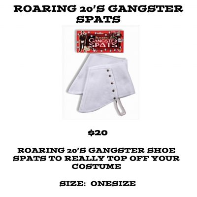 ROARING 20S GANGSTER SPATS
