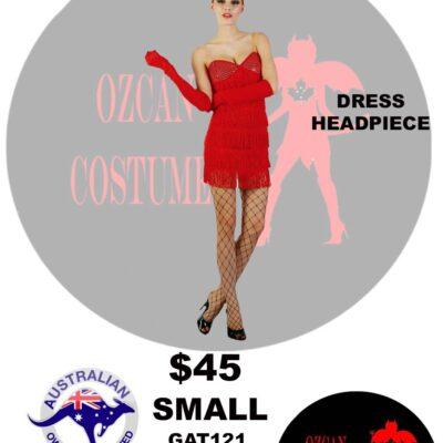 FLAPPER COSTUME S