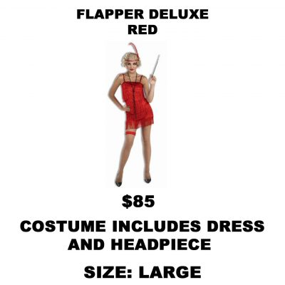 FLAPPER DELUXE RED L