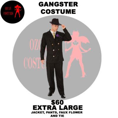 GANGSTER COSTUME XL