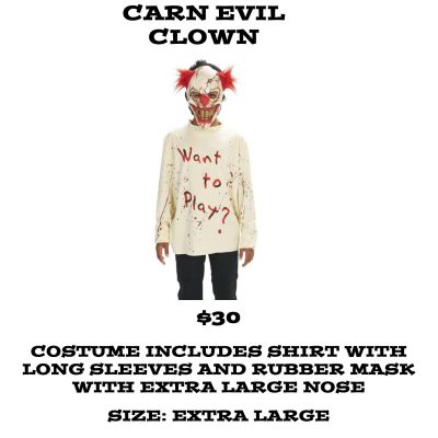 CARN-EVIL CLOWN XL