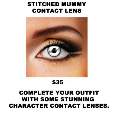 STITCHED MUMMY CONTACT LENS