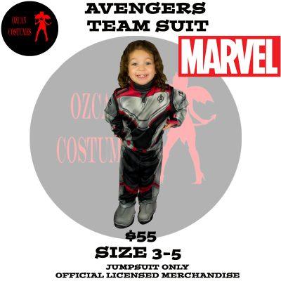 AVENGERS TEAM KIDS 3-5