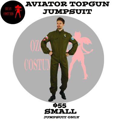 AVIATOR TOPGUN JUMPSUIT S