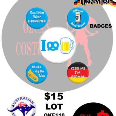 OKTOBERFEST BADGES
