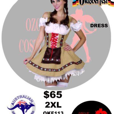 APLINE BEER GIRL 2XL