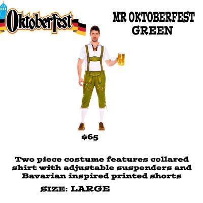 MR OKTOBERFEST GREEN L