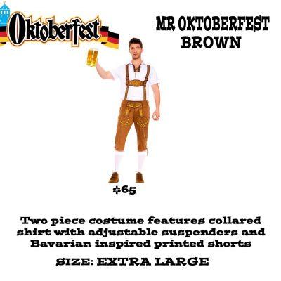 MR OKTOBERFEST BROWN XL