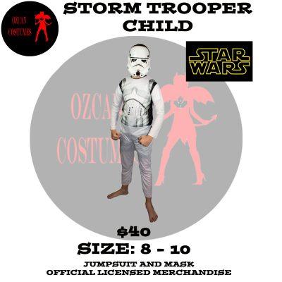 STORM TROOPER CHILD 8-10