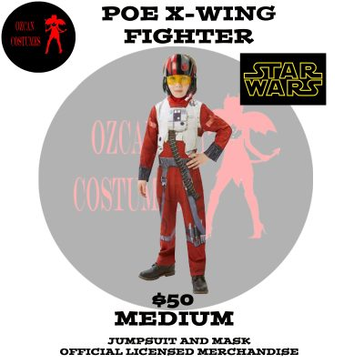 POE XWING FIGHTER CLASSIC M