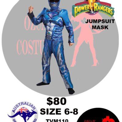 POWER RANGER BLUE 6-8