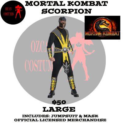 MORTAL KOMBAT SCORPION M