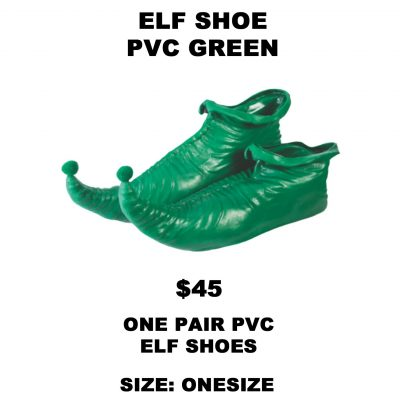 ELF SHOE PVC GREEN
